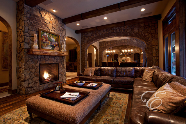Upscale Tuscan : mediterranean living room from www.houzz.com size 640 x 426 jpeg 123kB