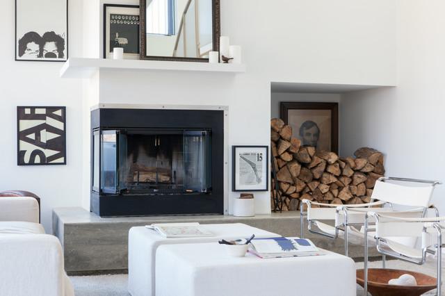 Upstate New York contemporary-living-room