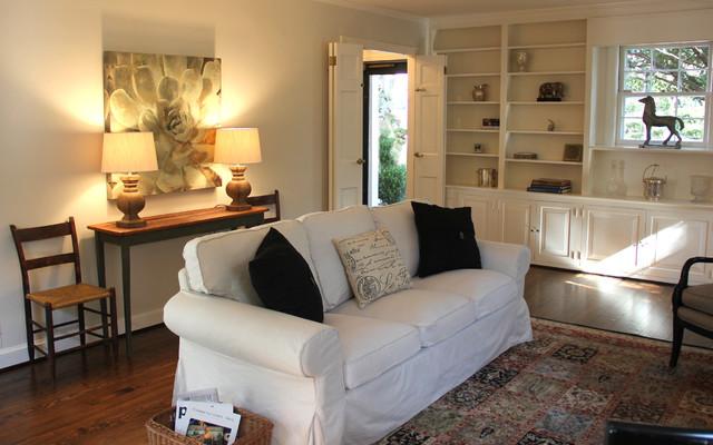 Upton St, Washington DC traditional-living-room