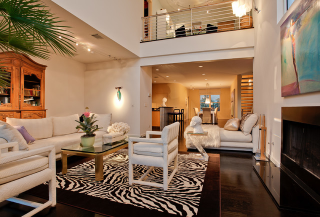 Uptown loft contemporary-living-room