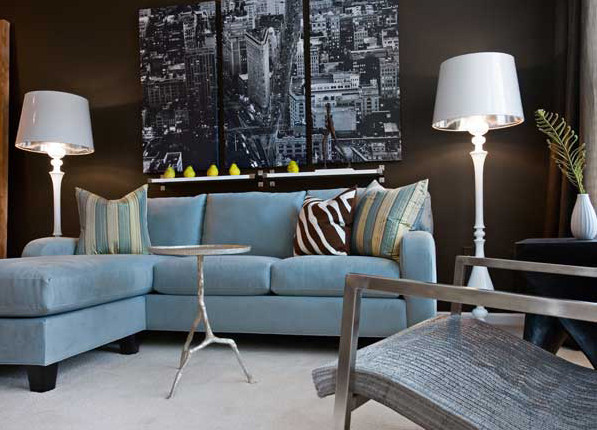Urban apartment living room contemporary living room atlanta by graysonharris interiors Contemporary urban living room