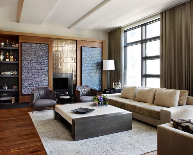 Urban Chic contemporaneo-soggiorno