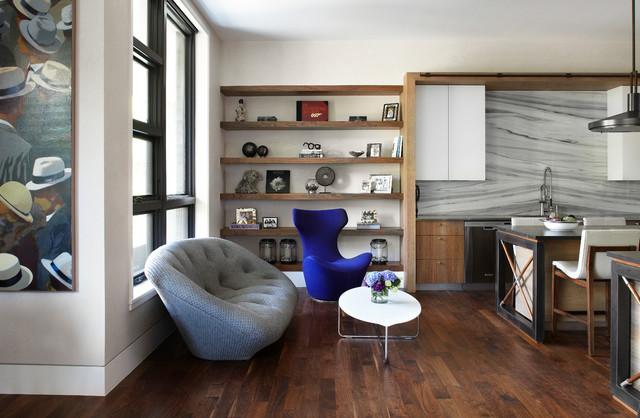 urban chic - contemporaneo - soggiorno - chicago - di morgante ... - Soggiorno Urban Chic
