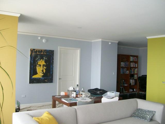 urban chic - moderno - soggiorno - chicago - di painting in ... - Soggiorno Urban Chic