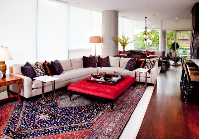 Urban Eclectic eclectic-living-room