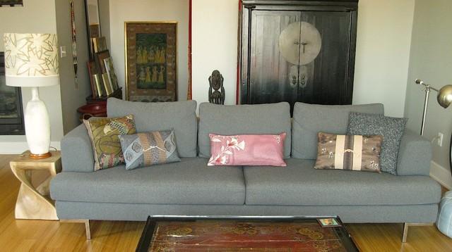 Urban Gypsys Global Art Living Room Kansas City Mo Eclectic