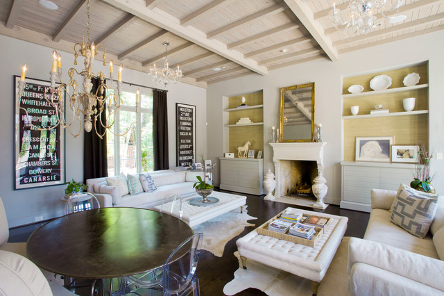Living In Magazine home magazine traditional living room by jim