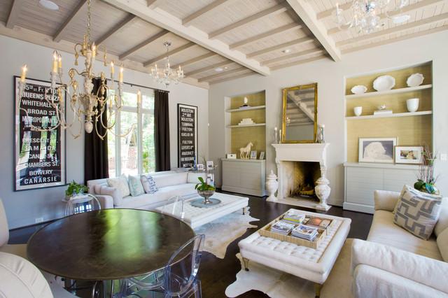 Urban Home Magazine Traditional Living Room