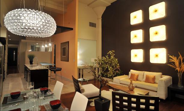 urban loft fort worth tx contemporary living room dallas