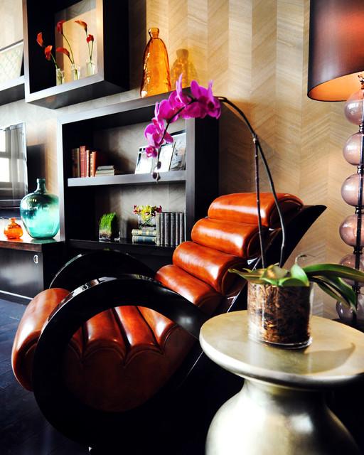Urban Loft Residence :: Fort Worth, TX contemporary-living-room