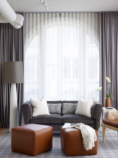 Urban Loft Residence contemporary-living-room