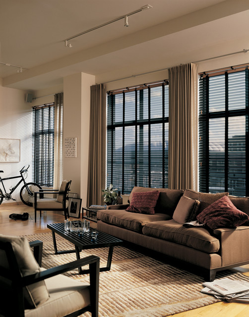 Loft Window Coverings Urban Loft Eclectic Living Room Vancouver Ruffell