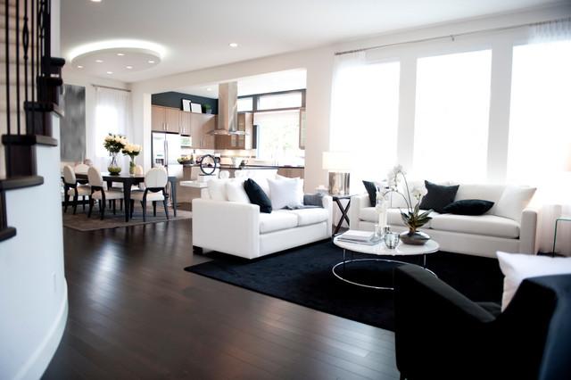 Modern Living Room Flooring