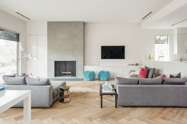 Urban modern scandinavian living room houston by poet interiors Contemporary urban living room