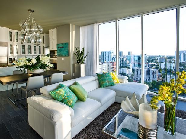 Urban oasis 2012 modern living room miami by cp design build services Contemporary urban living room