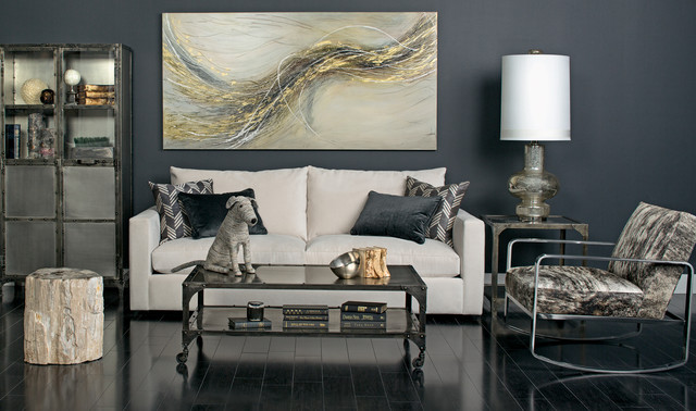 Urban oasis miller sofa vote cream contemporary living room houston by high fashion home Contemporary urban living room