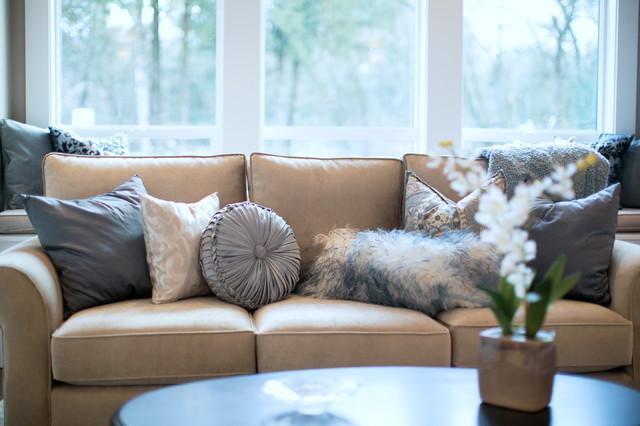 Urban Sophisticate contemporary-living-room
