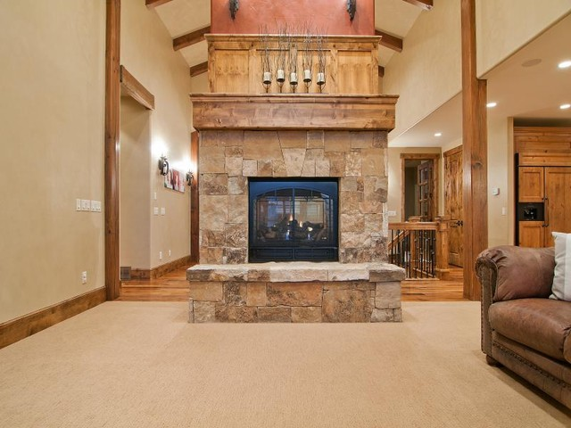 Utah's Luxury Home Builder, Cameo Homes Inc. in North Salt Lake traditional-living-room
