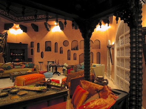 how can i get the moroccan style in my home strictly with decor? i
