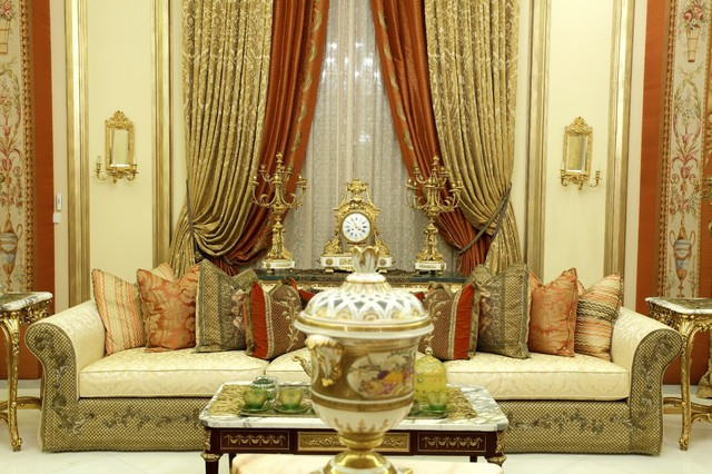 Traditional Living Room Curtains utopia projects