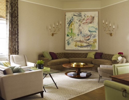 Eye For Design Decorate Your Interiors With Oversized Art