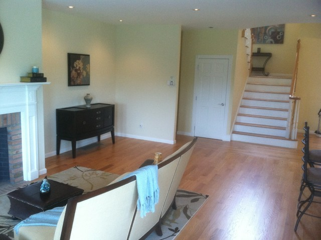 Vacant Home Staging contemporary-living-room
