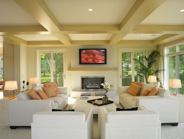 Vail Residence Modern Living Room