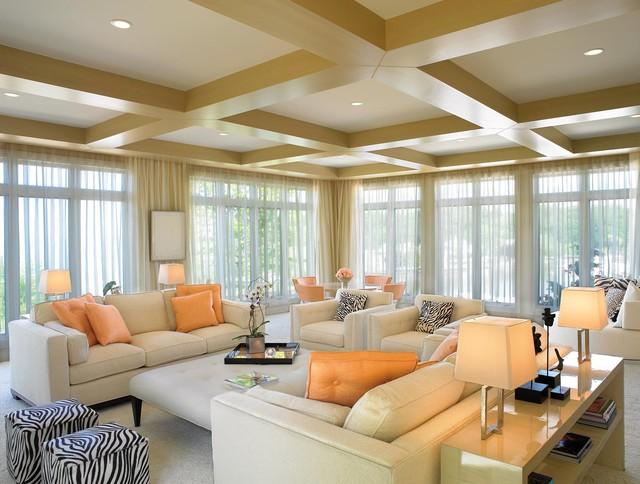 vail residence modern living room miami by jorge castillo