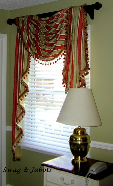 valances on rods traditional living room other metro by the