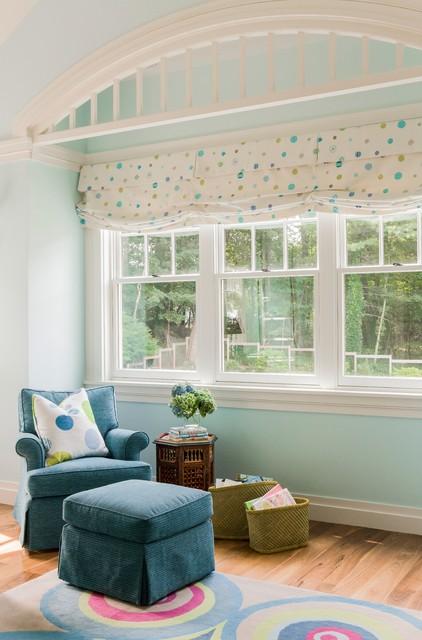 Valentine Street Residence transitional-living-room
