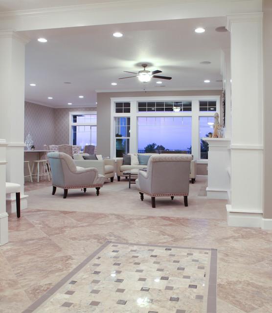 Valiant Homes traditional-living-room