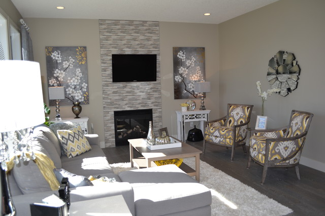 Valini Modern Living Room By McGonigal Signature Homes