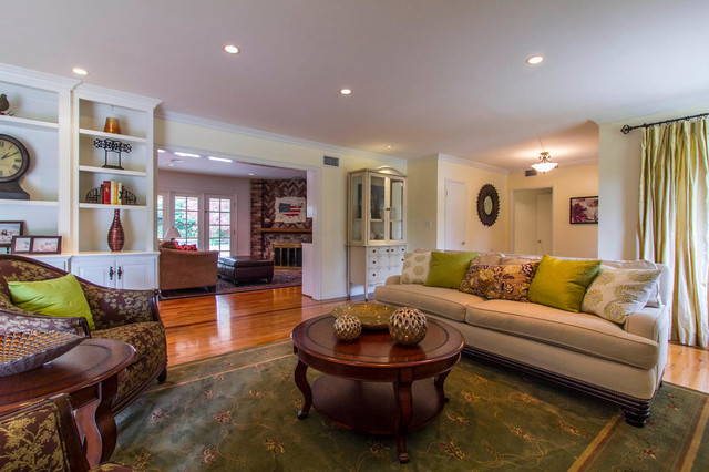 Valley traditional for Traditional eclectic living rooms