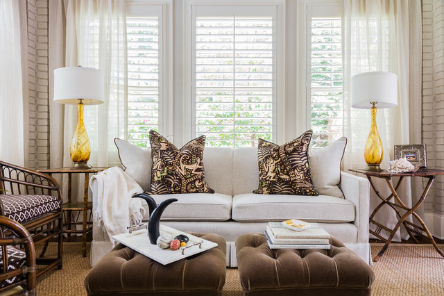 Vance Traditional Living Room Raleigh By La Maison