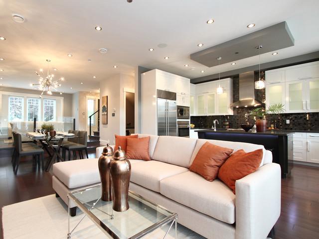 Vancouver Home contemporary-living-room