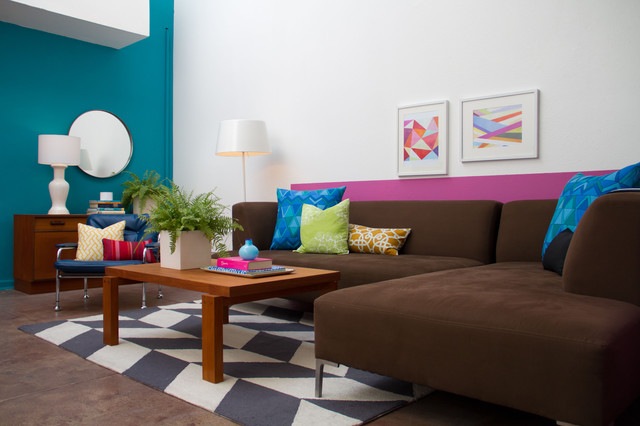 Vanessa de vargas for teen project modern living room for Young modern living room