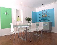 Vanessa De Vargas / Turquoise L.A. modern-living-room