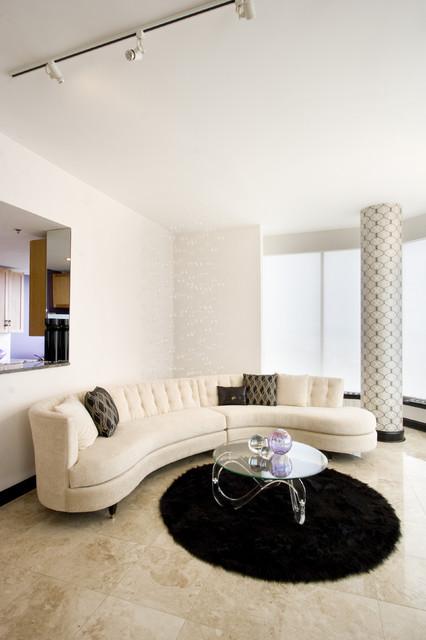 Vanessa DeLeon eclectic-living-room
