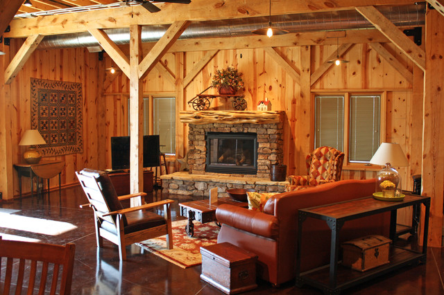 various barn home interiors traditional living room