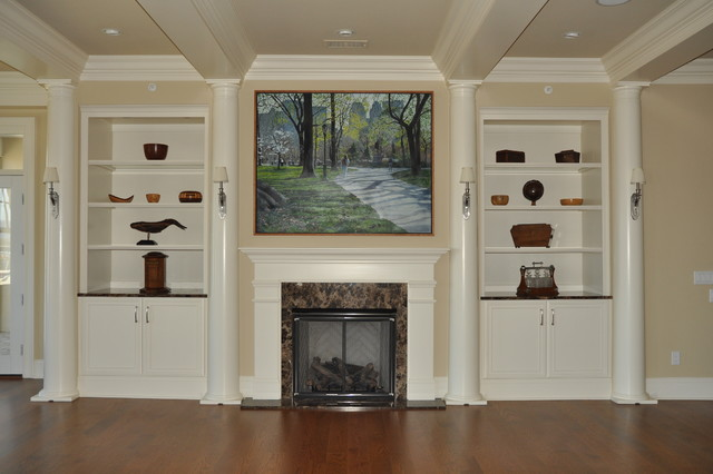 ... Traditional - Family Room - Richmond - by Bowman's Woodworking Inc
