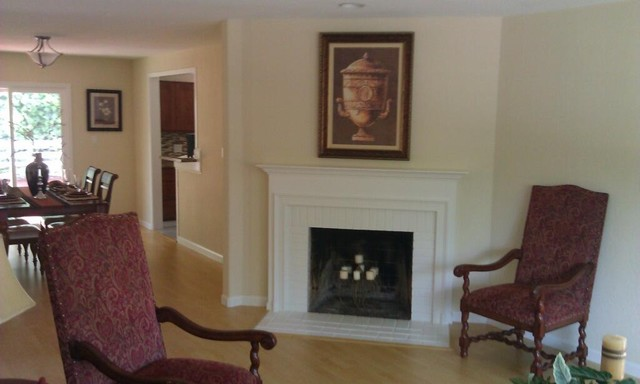 various home painting projects traditional-living-room