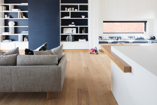 Vaucluse House contemporary-living-room