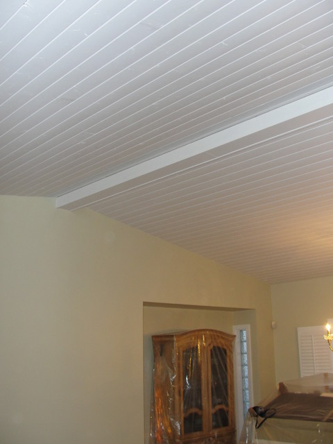 Vaulted Ceiling 1x6 Tongue And Groove Traditional