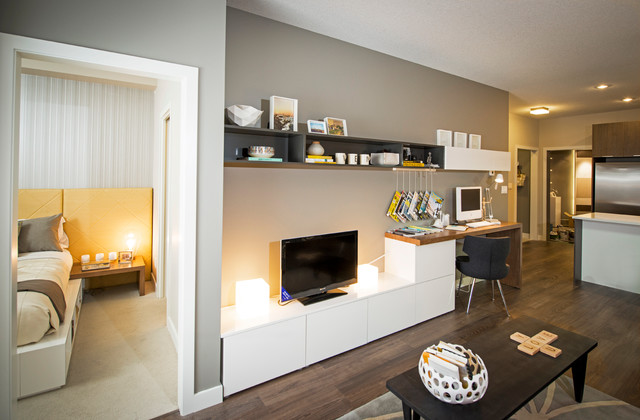 Ven - Contemporary - Living Room - Calgary - by Portico Design Group