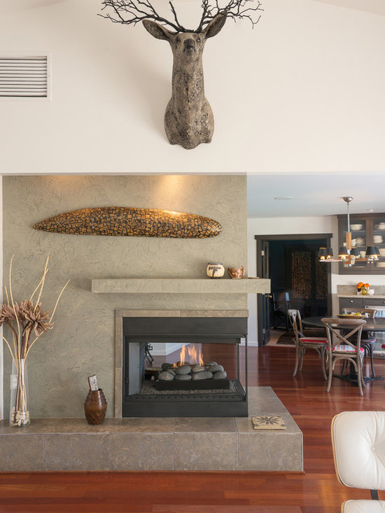 Gas Fireplace Mantel Home Design Ideas Pictures Remodel