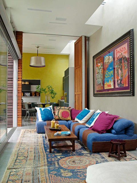 Venice Canals eclectic-living-room