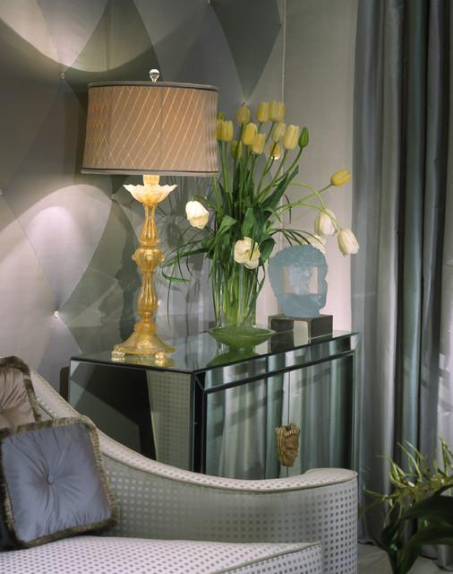 venitian inspired art deco living room eclectic living room