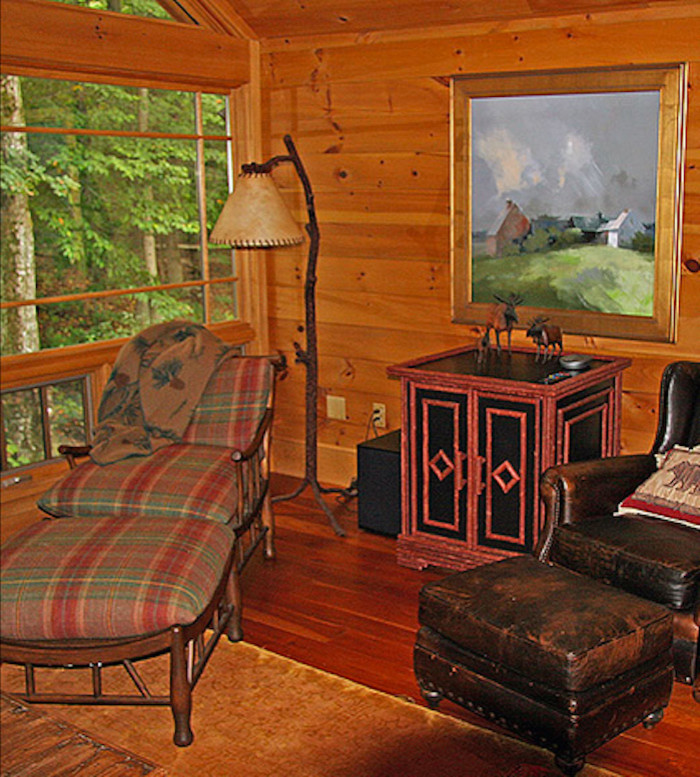 Vermont country living room