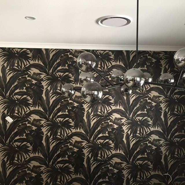 Versace Wallpaper Installation Gold Coast Traditional Living Room Gold Coast Tweed By Beautiful Walls Houzz Uk