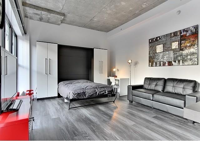 Vertical wall bed lits escamotables verticaux modern - Casa rural urduliz ...